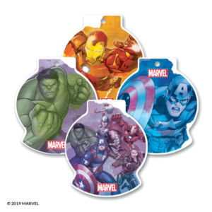 AVENGERS SCENTSY SCENT CIRCLES