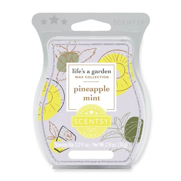 PINEAPPLE MINT SCENTSY BAR