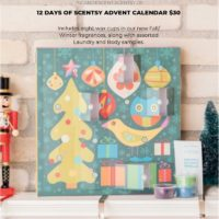 12 DAYS OF CHRISTMAS SCENTSY ADVENT CALENDAR