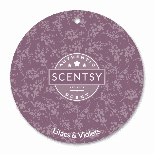 LILACS AND VIOLETS SCENTSY SCENT CIRCLE