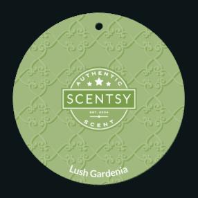 LUSH GARDENIA SCENTSY SCENT CIRCLE