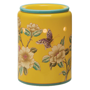 Scentsy Madame Butterfly Yellow Premium Warmer