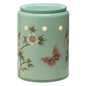 Scentsy Madame Butterfly Mint Premium Warmer