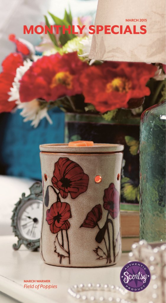 March 2015 Warmer of the Month ~ Field of Poppies
