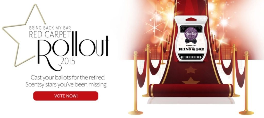 Scentsy Bring Back my Bar 2015 Red Carpet Rollout