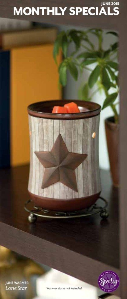 Lone Ranger - Scentsy 2015 Warmer of the Month