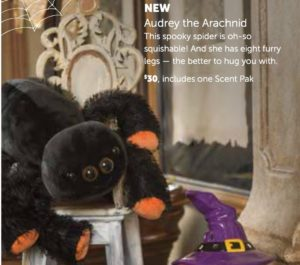 Audrey the Arachnid..Available September 1st! While Supplies Last!