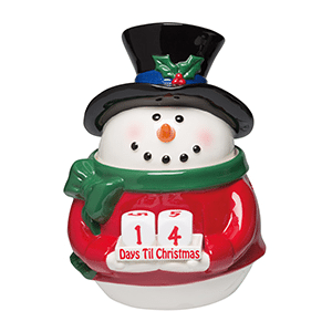 Snowman Countdown Scentsy Warmer