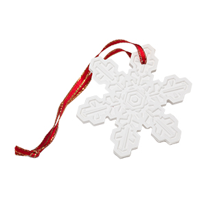 Scentsy Very Snowy Spruce Christmas Porcelain Ornament