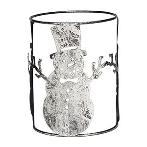 Scentsy Snowman Wrap for Silhouette Warmer