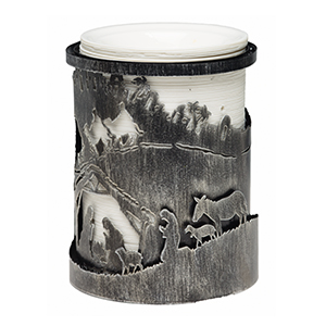 Away in the Manger with Etched Core - $43.00