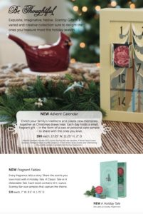 Scentsy 2015 Holiday Christmas Flyer 2