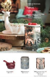 Scentsy 2015 Holiday Christmas Flyer 5