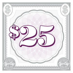 Scentsy $25 Gift Certificate