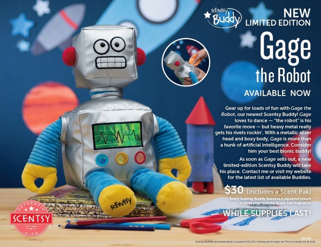 ScentsyGageRobotBuddy - 1