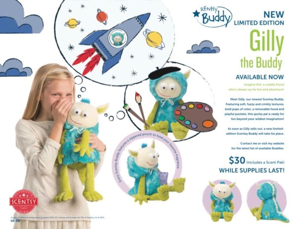 SCENTSY GILLY THE BUDDY