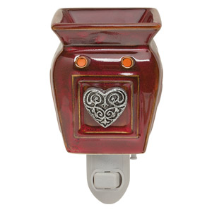 | Shop Scentsy Heartfelt Scentsy Wax Warmer Premium and Wax Warmer Nightlight
