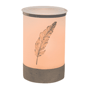 SCENTSY QUILL WITH EDISON BULB WARMER