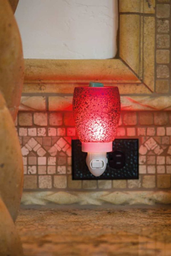 CRANBERRY GLASS NIGHTLIGHT SCENTSY WARMER