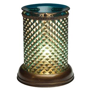 SCENTSY BLUE DIAMOND LAMPSHADE WARMER