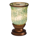 SEAFOAM FLUTED SHADE SCENTSY WARMER