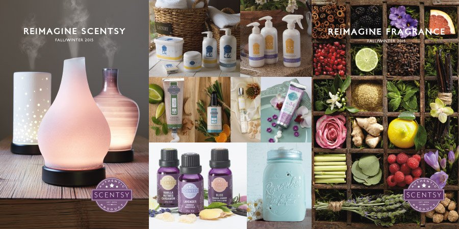 Scentsy Fall / Winter 2015 Catalog
