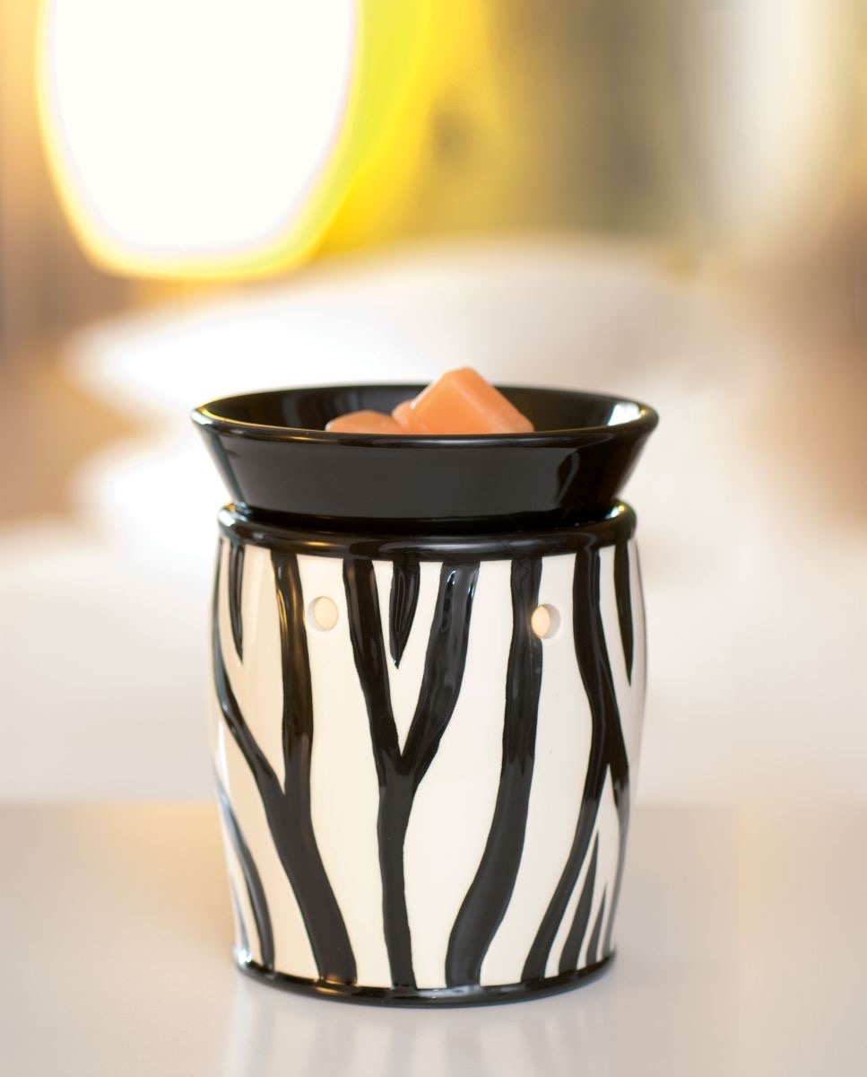 Shop Scentsy Zebra Wax Warmer Deluxe Scentsy 174 Buy Online
