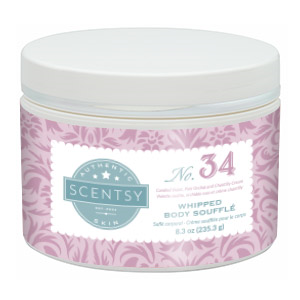 SCENTSY WHIPPED BODY SOUFFLE NO. 34