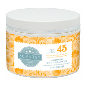 SCENTSY WHIPPED BODY SOUFFLE NO. 45
