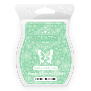 SCENTSY PEAR BLOSSOM & CUCUMBER