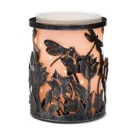 SPRING CREEK SCENTSY WARMER WRAP WITH ETCHED CORE WARMER