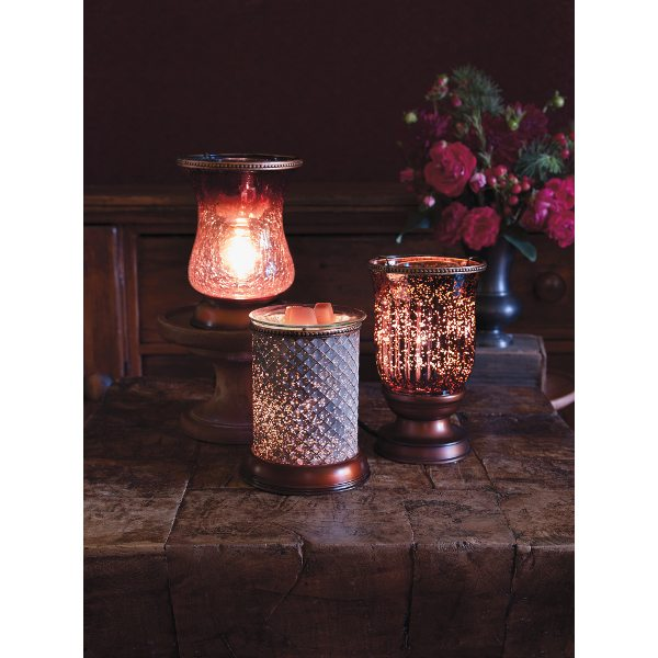 SCENTSY LAMPSHADE COLLECTION WARMERS