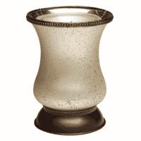 CREAM TULIP LAMPSHADE WARMER