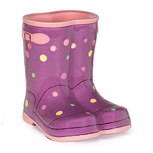 WELLIES SCENTSY WARMER PREMIUM | Scentsy February 2016 Warmer and Scent of the Month ~ Wellies Spring Boots Warmer and Pear Blossom & Cucumber Fragrance