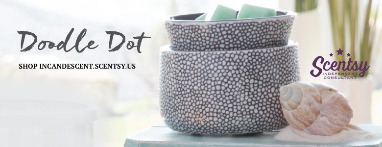 New Scentsy SPRING/ SUMMER 2016 - SCENTSY DOODLE DOT ELEMENT WARMER