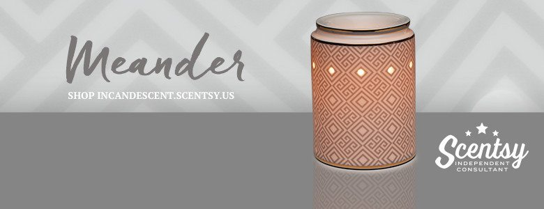SCENTSY MEANDER WARMER 2016
