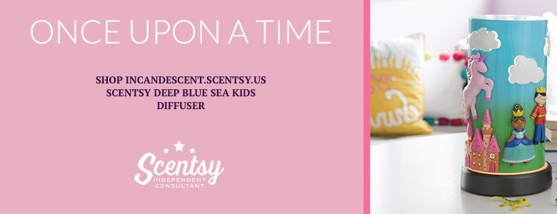 SCENTSY ONCE UPON A TIME KIDS DIFFUSER 2016