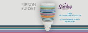 New Scentsy SPRING/ SUMMER 2016 - SCENTSY RIBBON SUNSET NIGHTLIGHT