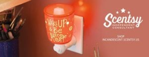 SCENTSY WAKE UP AND BE AWESOME NIGHTLIGHT WARMER