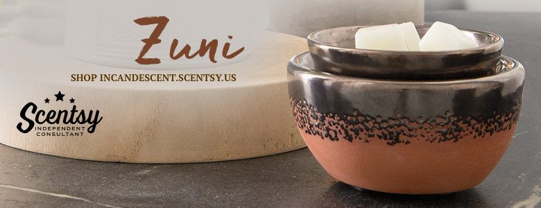 SCENTSY ZUNI ELEMENT WARMER 2016