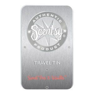 SWEET PEA & VANILLA SCENTSY TRAVEL TIN | Shop Scentsy SWEET PEA & VANILLA FRAGRANCE