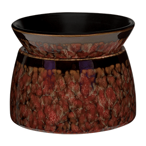 RED MARBLE SCENTSY WARMER ELEMENT