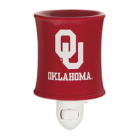 UNIVERSITY OF OKLAHOMA SCENTSY MINI WARMER