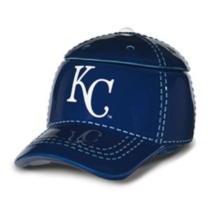 KANSAS CITY ROYALS MLB SCENTSY WARMER | KANSAS CITY BASEBALL CAP SCENTSY WARMER | DISCONTINUED ON SALE