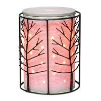 BLACK ELM SCENTSY WARMER WRAP WITH ETCHED CORE SILHOUETTE SCENTSY WARMER