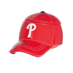 PHILADELPHIA PHILLIES™ MLB SCENTSY WARMER | PHILADELPHIA BASEBALL CAP SCENTSY WARMER | DISCONTINUED ON SALE