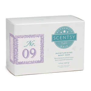 NO.09 WOMEN'S SCENTSY MOISTURIZING BODY BAR