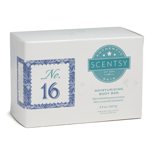 NO.16 WOMEN'S SCENTSY MOISTURIZING BODY BAR