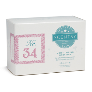 NO.34 WOMEN'S SCENTSY MOISTURIZING BODY BAR