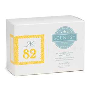 NO.82 WOMEN'S SCENTSY MOISTURIZING BODY BAR